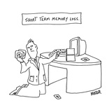 Short Term Memory Loss. - Cartoon