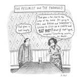 The Pessimist and the Paranoid - New Yorker Cartoon