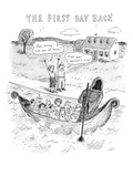 The First Day Back - New Yorker Cartoon