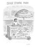 Hoax Ethnic Food - New Yorker Cartoon