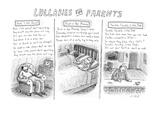Lullabies For Parents - New Yorker Cartoon