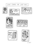 Junk Stamps For Junk Mail - New Yorker Cartoon