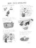New I.R.S. Guidelines - New Yorker Cartoon