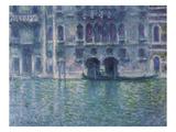 Der Palazzo De Mula in Venedig, 1908