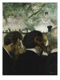Musiciens a L'Orchestre, 1872