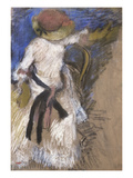 Seated Woman in a White Dress, about 1888-1892