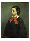 Portrait of Mademoiselle Jacquet, 1857