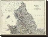 England, North Wales, c.1861