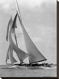 The Schooner Half Moon at Sail, 1910s