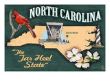 North Carolina - State Icons