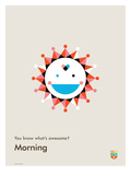 You Know What's Awesome? Morning (Gray)