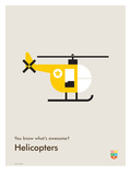 You Know What's Awesome? Helicopters (Gray)