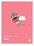 You Know What's Awesome? Kites (Pink)