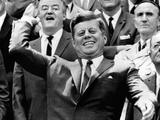 President John Kennedy Opens the Baseball Season