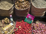 Spices for Sale, Souk in the Medina, Marrakech (Marrakesh), Morocco, North Africa