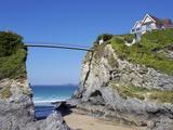 Towan Beach, Newquay, Cornwall, England, United Kingdom, Europe