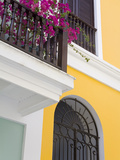 Colonial Buildings in Old City of San Juan, Puerto Rico Island, West Indies, USA, Central America