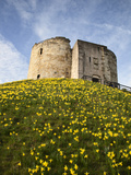 Cliffords Tower, York, Yorkshire, England