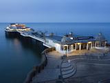 Cromer Pier at Dusk, Cromer, Norfolk, England, United Kingdom, Europe