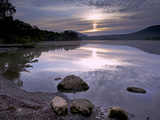 Sunrise, Derwent Water, Lake District National Park, Cumbria, England, United Kingdom, Europe