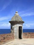 Sentry, San Cristobal Fort, UNESCO World Heritage Site, San Juan, Puerto Rico, USA
