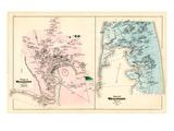 1880, Wellfleet Village, Wellfleet Town, Massachusetts, United States