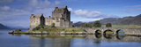 Castle on an Island, Eilean Donan, Loch Duich, Dornie, Highlands Region, Scotland