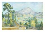 Montagne Saint Victoire, 1890