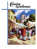 """""""""""Mexican Village Market,"""""""" Country Gentleman Cover, June 1, 1938"""