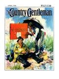 """""'No Trespassing',"""" Country Gentleman Cover, April 1, 1928"