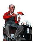 """""""""""Umbrella Repair Man,""""""""April 25, 1925"""