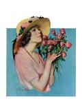 """""Pink Rose Bouquet,""""June 18, 1927"