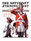"""""""""""Fourth of July, 1776,"""""""" Saturday Evening Post Cover, June 30, 1923"""