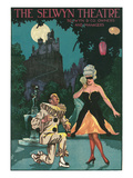 Playbill with Pierrot