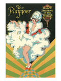 Playbill with Dancing Girl