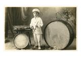 Child Percussionist