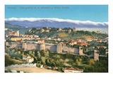 Overview of Granada, Spain