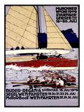 Munich Rowing Regatta Poster, Germany