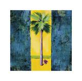 Neon Palm I