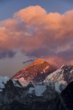 View from Gokyo Ri of Mt Everest and Mt Lhotse, Solu Khumbu (Everest) Region, Nepal