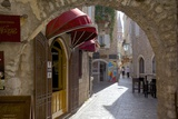 Narrow Street, Budva Old Town, Budva, Montenegro, Europe