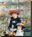 The Two Sisters on the Terrace, 1881