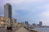 Malecon Street Along the Waterfront, Havana, UNESCO World Heritage Site, Cuba