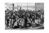 Emigrants Leaving Queenstown, Ireland, for New York, 1874