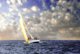 Sailing at Sunrise I