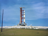 The Apollo Saturn 501 Launch Vehicle Mated To the Apollo Spacecraft