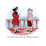 """""I'm starting to think the pirate life is NOT for you, Johnson."""" - Cartoon"