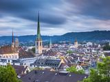 City Skyline, Zurich, Switzerland
