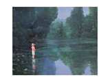 Child Fishing, 1989