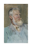 Portrait of George Bernard Shaw (1856-1950), 1915